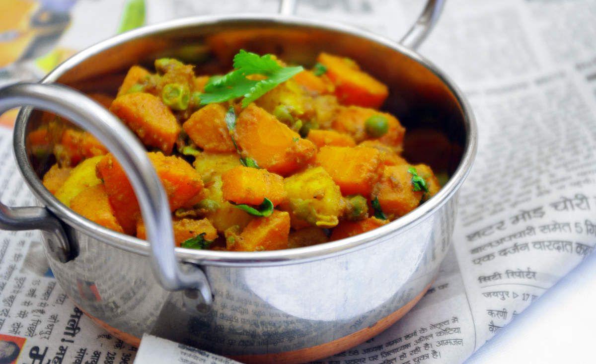 Recette de carottes à l'indienne Gajar