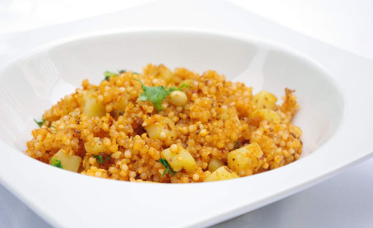Recette végétarienne au tapioca