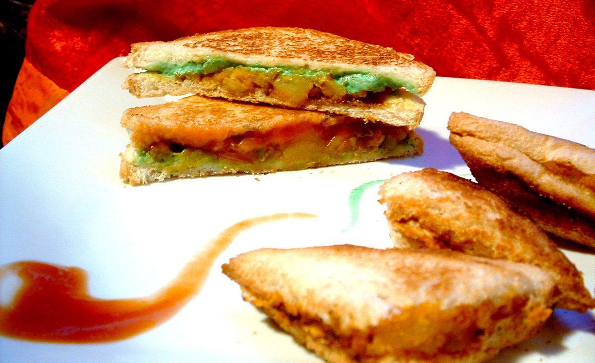Recette de sandwichs à l'indienne