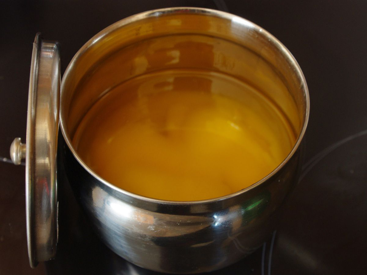 Ghee le beurre clarifié indien