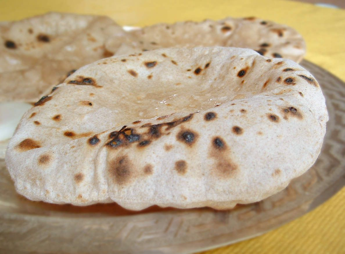 Pain traditionnel indien Chapati
