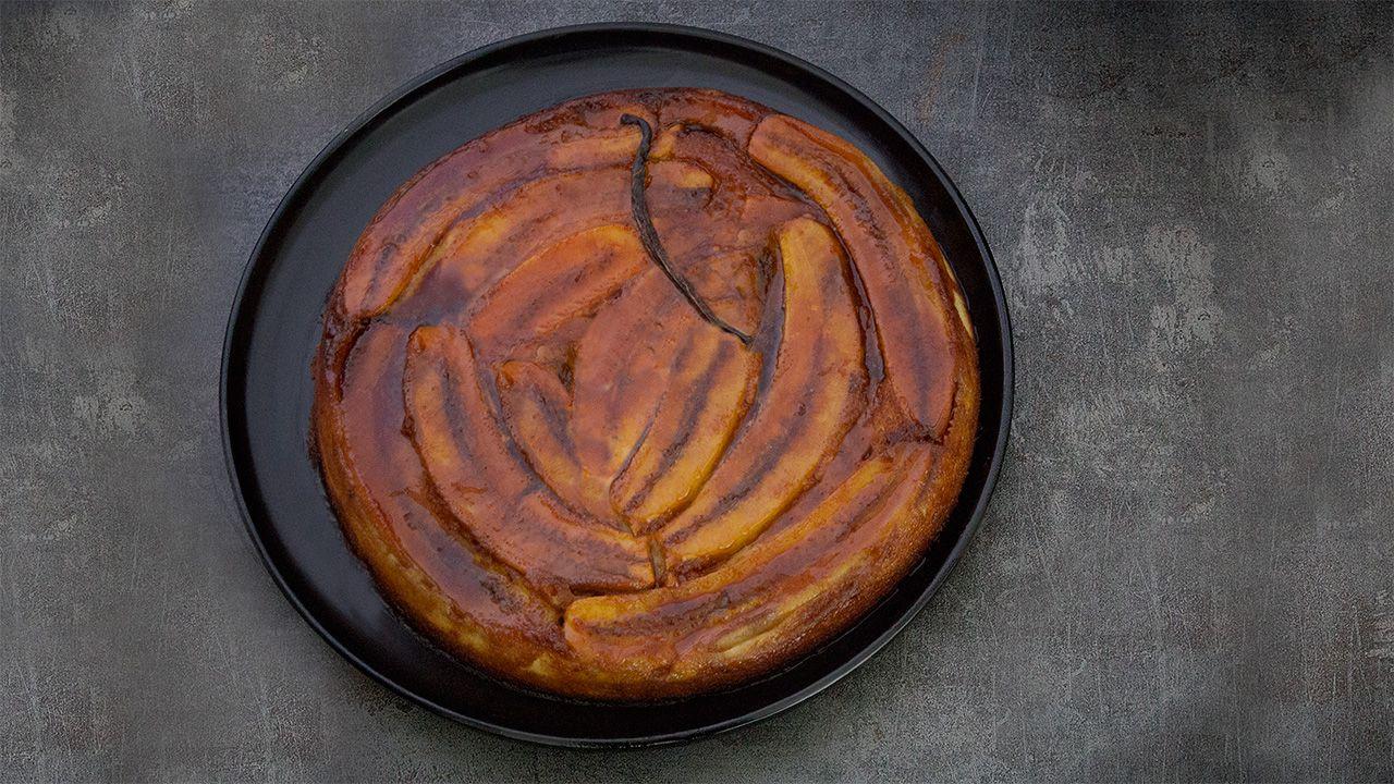 Recette de gâteau tatin à la banane