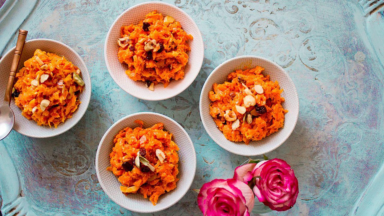 Recette de Halwa de carottes indien