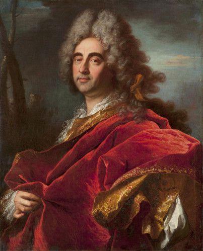 Hyacinthe Rigaud - Portrait de Jean-Baptiste de Magnianis - 1709  © photo Guillaune Onimus. Boquet & Marty de Cambiaire Fine Art