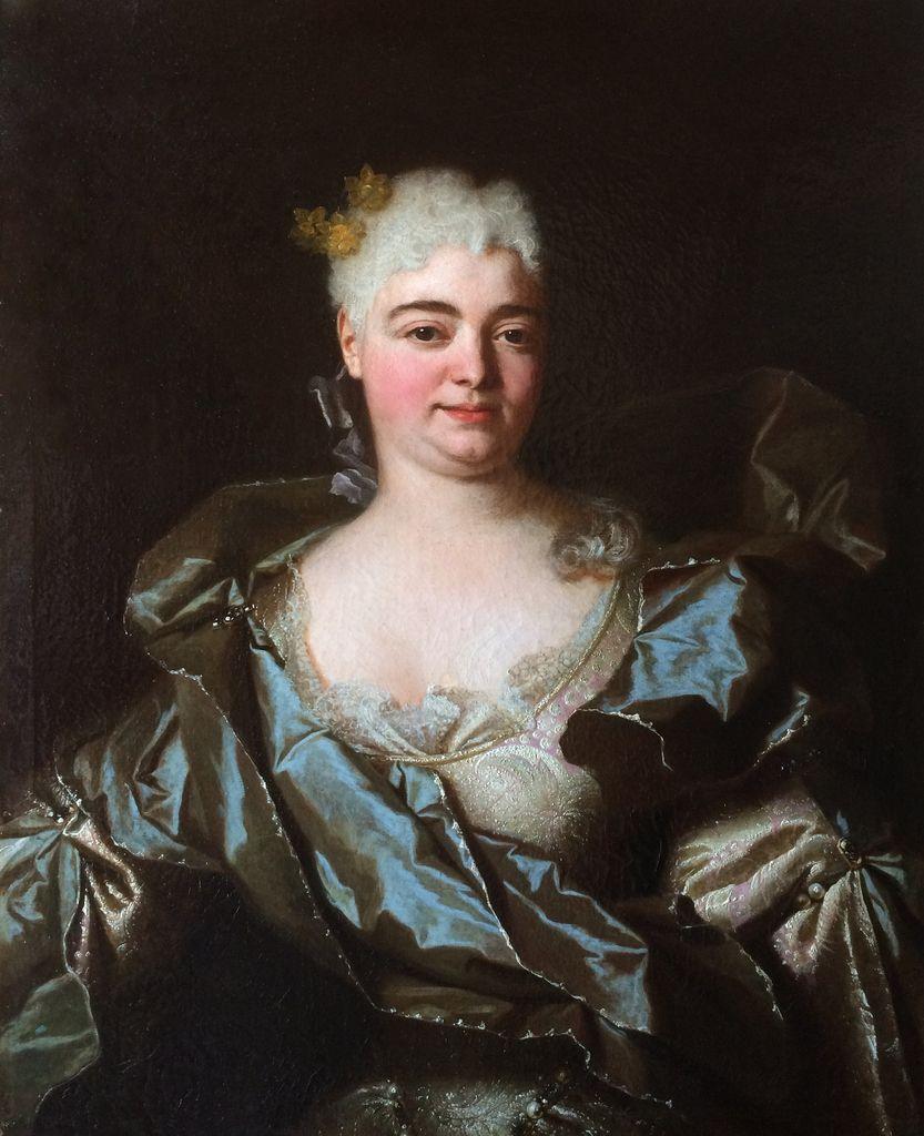 Adrien Leprieur, portrait présumé de Madame Chardon des Roys. Paris, collection particulière © photo du collectionneur.