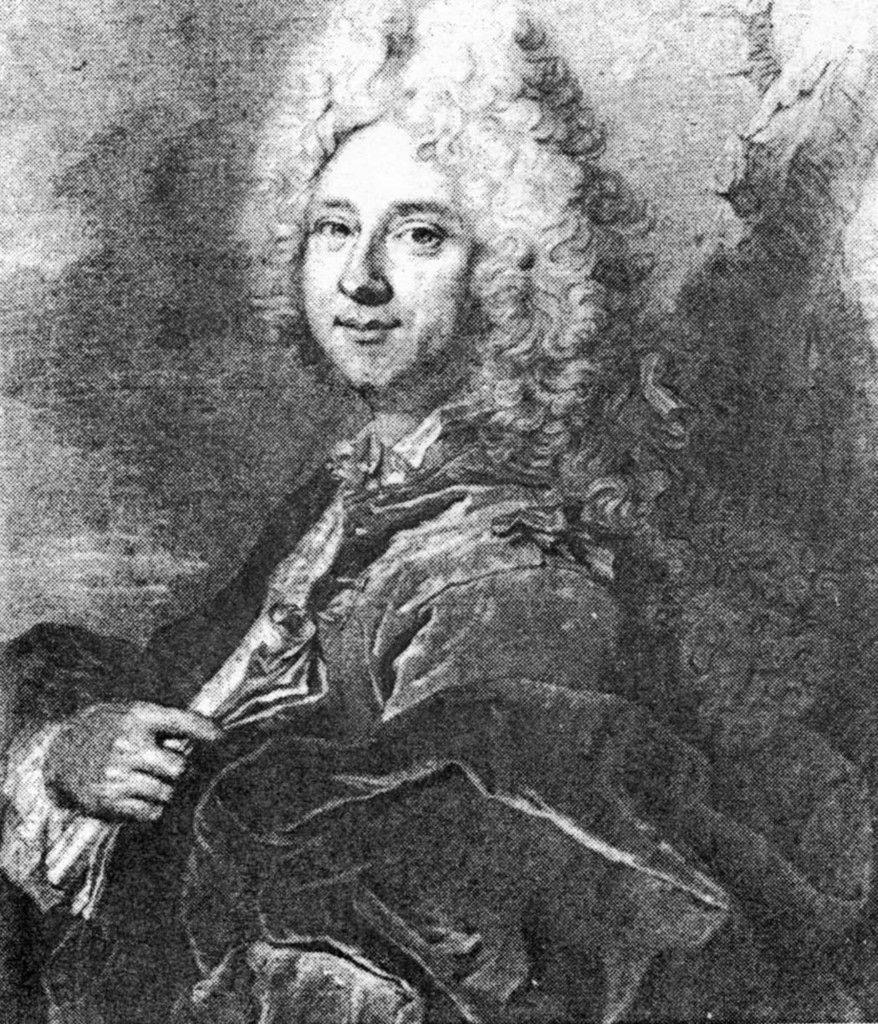 Anonyme d'après Rigaud, portrait présumé de Drouard de Bousset. Coll. priv. © d.r.