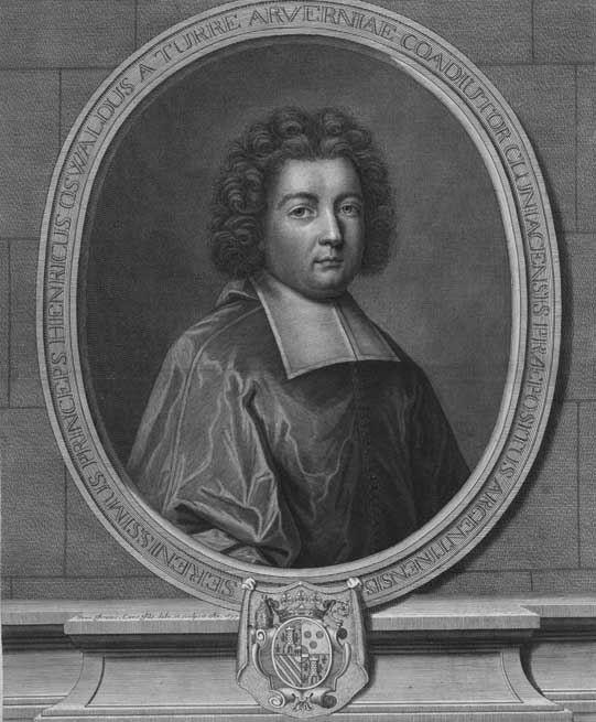 Jean-François Cars, portrait de l'abbé d'Auvergne, 1699. Coll. priv. © d.r.