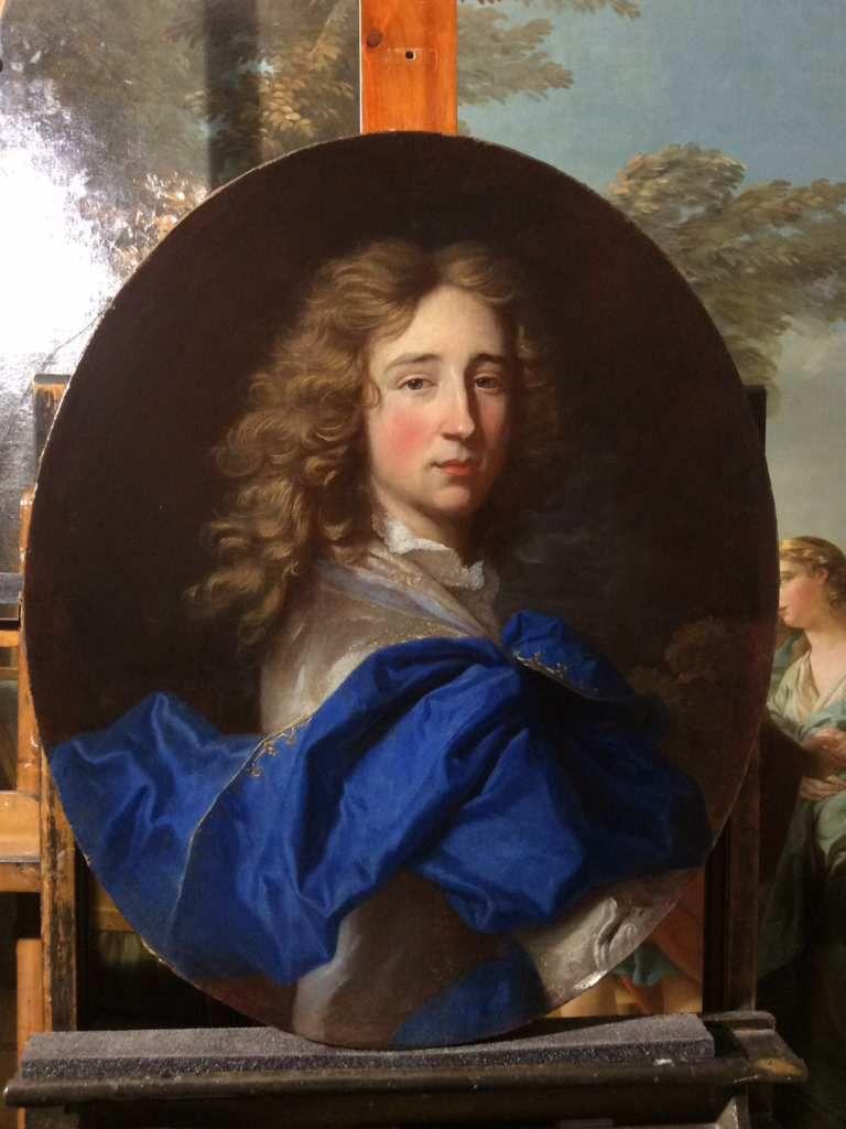 Hyacinthe Rigaud, portrait de jeune homme, v. 1690. France, collection privée © photo Guillaume Bouchayer