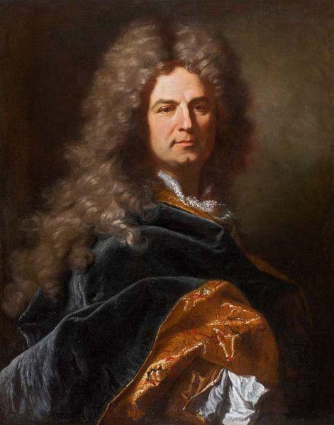 Hyacinthe Rigaud et atelier : portrait de gentilhomme, v. 1710. Coll. part. © étude Turquin
