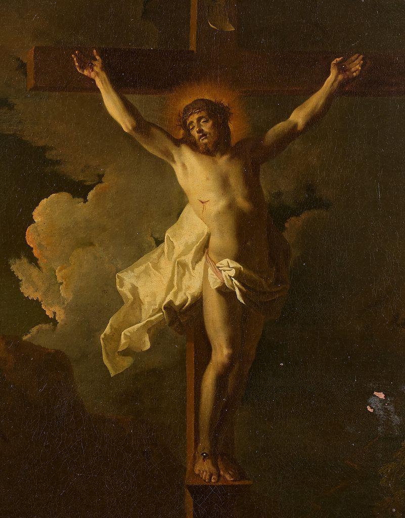 Jean Ranc (attribué à), Crucifixion (détail). Collection privée © CDPHSP