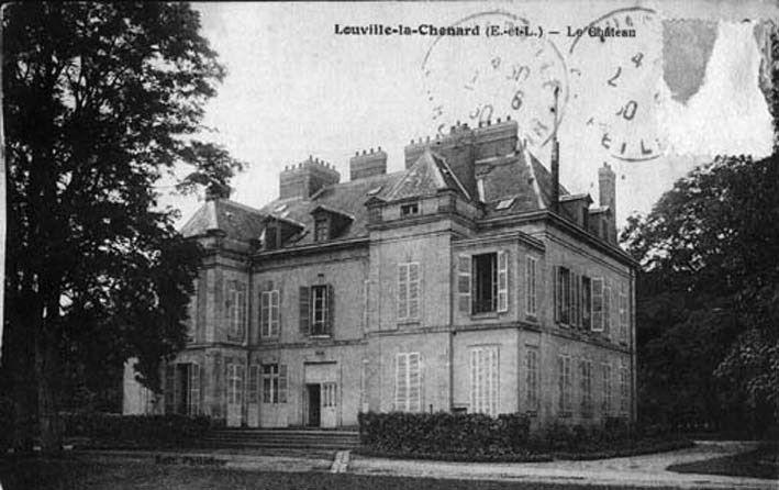 Le château de Louville-la-Chénard en Eure-et-Loir