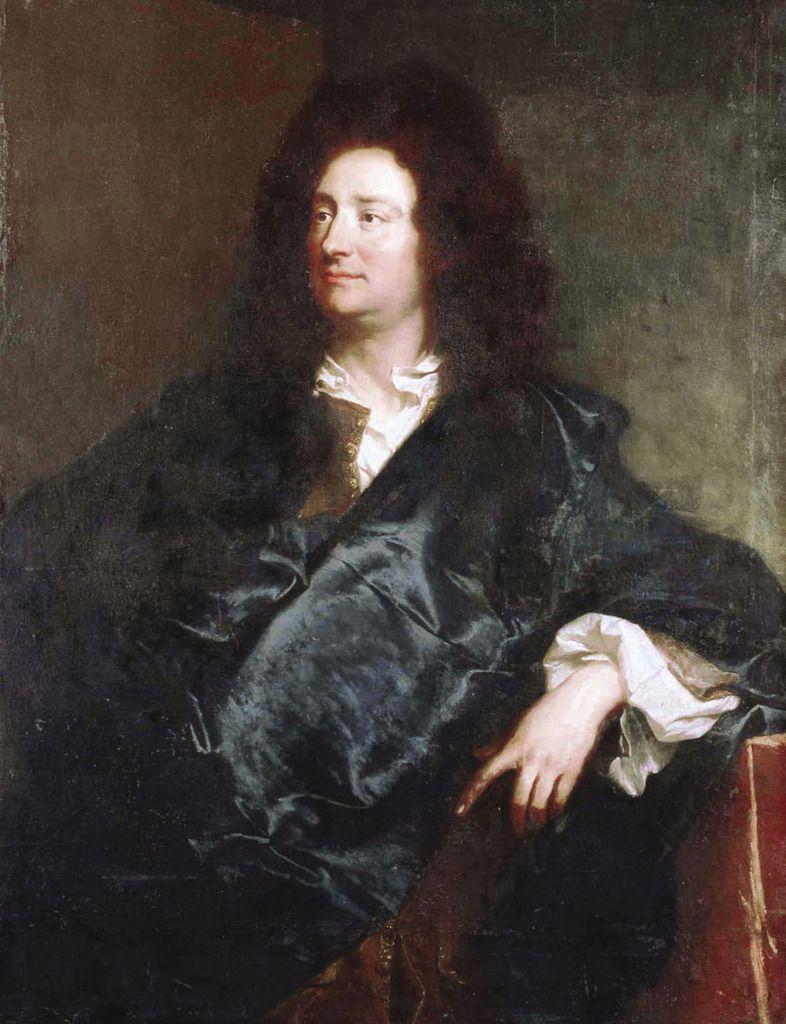Hyacinthe Rigaud, portrait du peintre Charles de La Fosse, 1691. Berlin, Schloss Charlottenburg © Berlin, Stiftung Preussicher Kunsturbesitz