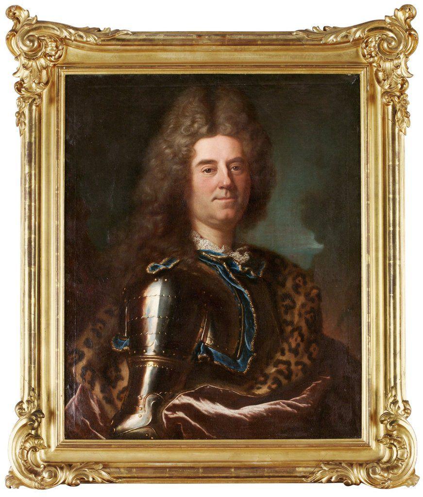 Hyacinthe Rigaud, portrait du comte de Sparre, en 1717. Coll. priv. © d.r.