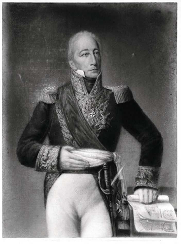 Eugène Pirou, portrait du général Despinoy © d.r.