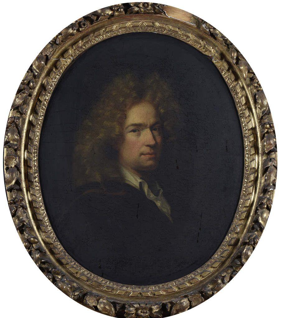 Hyacinthe Rigaud, portrait de jeune homme, v. 1680 (détail). Paris, commerce d'art © Lemoine svv