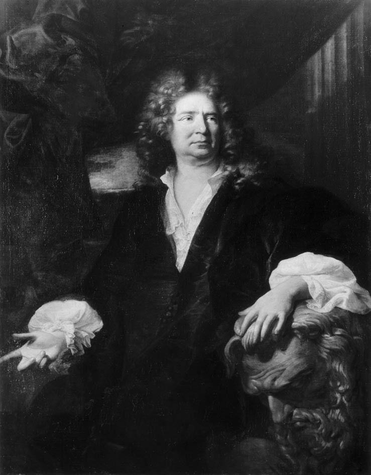 Hyacinthe Rigaud, portrait du sculpteur Martin Desjardins, 1692. Berlin, Gemäldegalerie © d.r. / documentation des peintures du Louvre