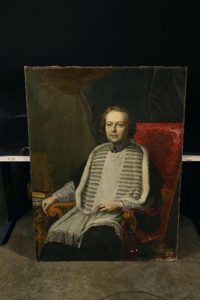 B. Monmorency, portrait de Benoît de Ruddere, 1727. Liège, commerce d'art © d.r.