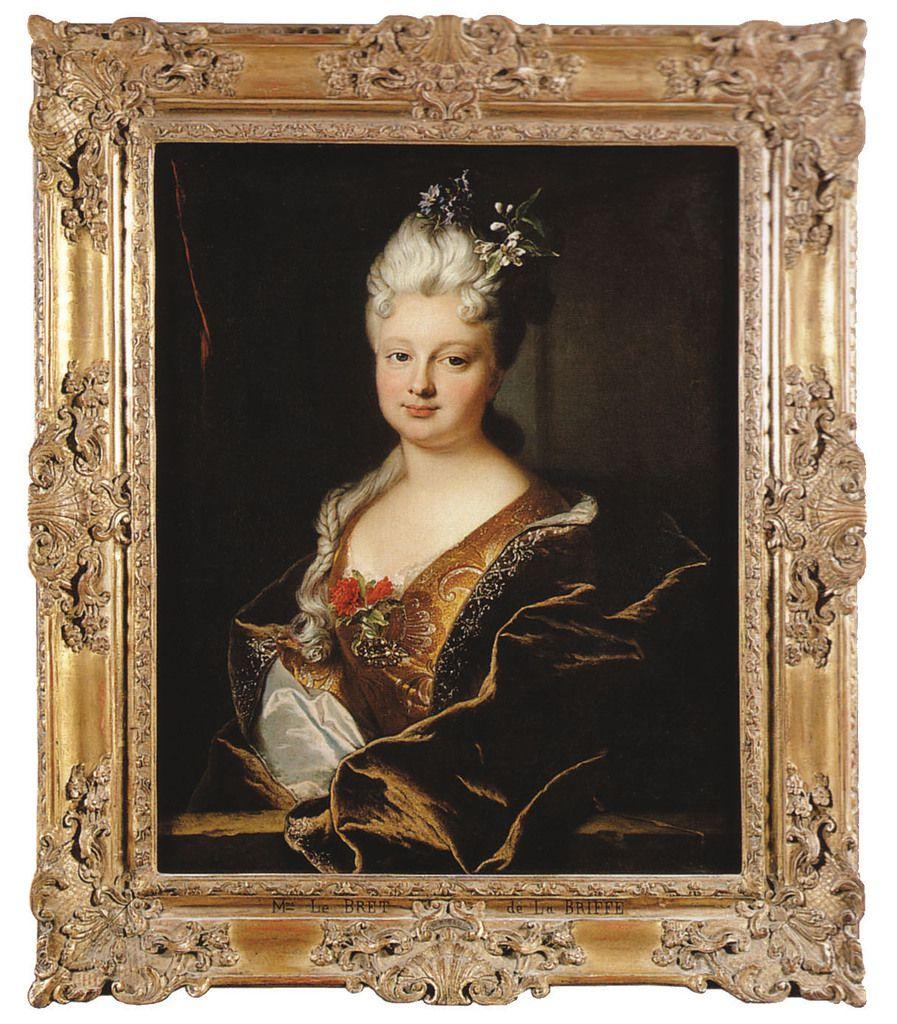 Hyacinthe Rigaud, portrait de Marguerite-Henriette de La Briffe, 1712. Localisation actuelle inconnue © d.r.