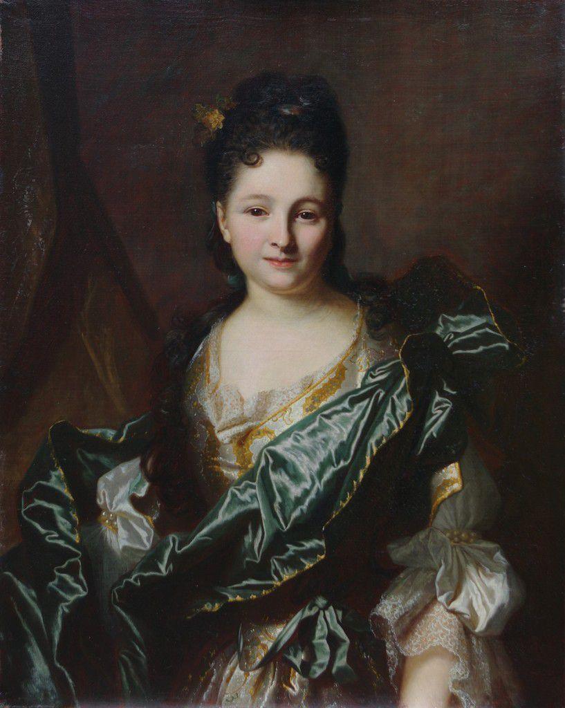 Hyacinthe Rigaud. Portrait de femme. V. 1690-1705. Bruxelles coll. part ©  Stéphan Perreau