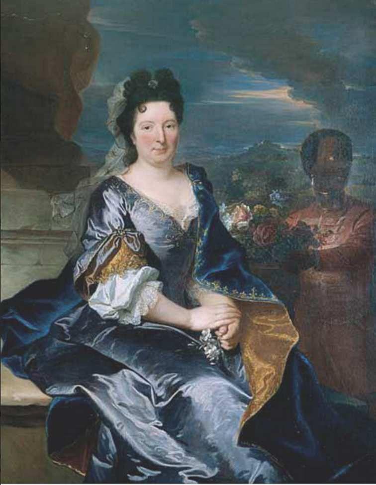 Hyacinthe Rigaud, portrait de Marguerite Françoise Béraud, 1697, coll. priv. © Stéphan Perreau