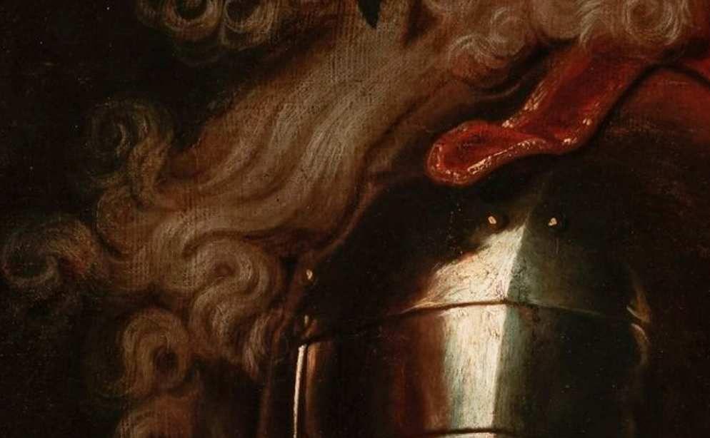 D'après Hyacinthe Rigaud, Portrait d'Henri, duc d'Harcourt, H. 83 ; L. 62 cm. Vente Genève enchères, 19 septembre 2018, lot. 462 (détail) © Courtesy of Genève enchères