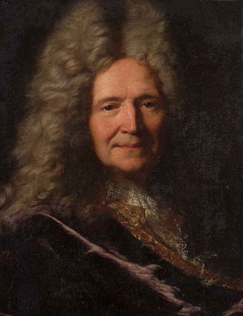 Hyacinthe Rigaud, portrait d'homme, v. 1701. © courtesy of Toovey's antiques