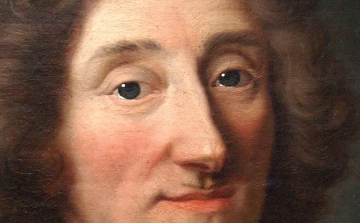 Hyacinthe Rigaud et atelier, portrait d'Hippolyte de Béthune, évêque de Verdun (détail), 1694. commerce d'art © image SVV MICHEL DARMANCIER & OLIVIER CLAIR S.A.R.L