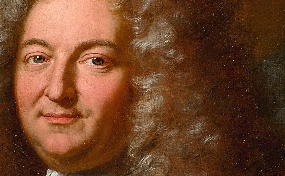 Hyacinthe Rigaud, portrait de Jean-Baptiste Fleuriau d'Armenonville, Huile sur toile, 1709 (détail). Collection particulière © courtesy Christie's New York