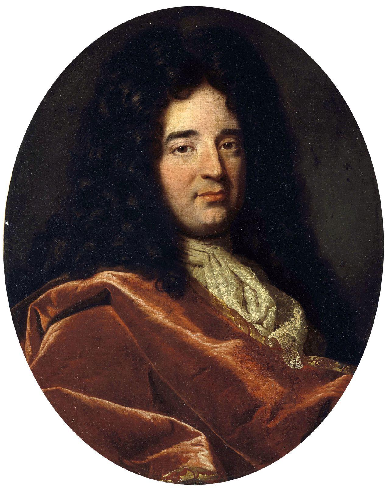 Gaspard Rigaud, portrait d'homme, 1695, collection particulière © Christie's LTD
