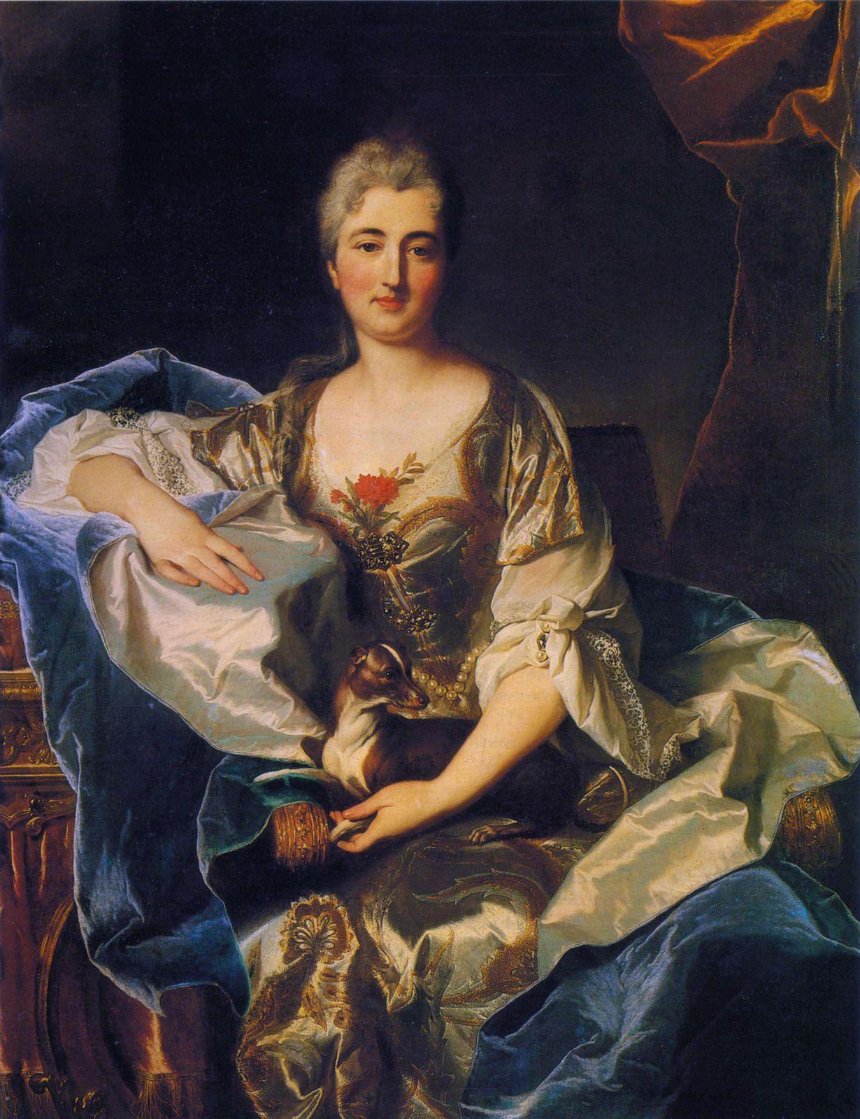 Hyacinthe Rigaud, portrait de femme, 1701. Collection particulière © photo Sotheby's