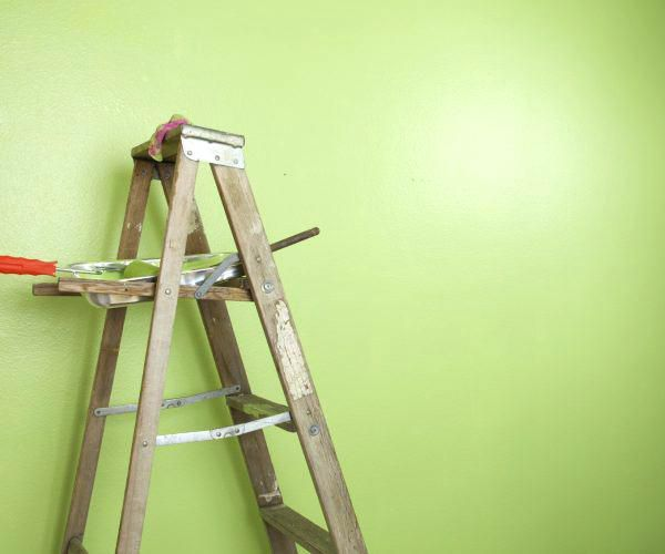 Painting High Walls Without A Ladder Commercial Painting