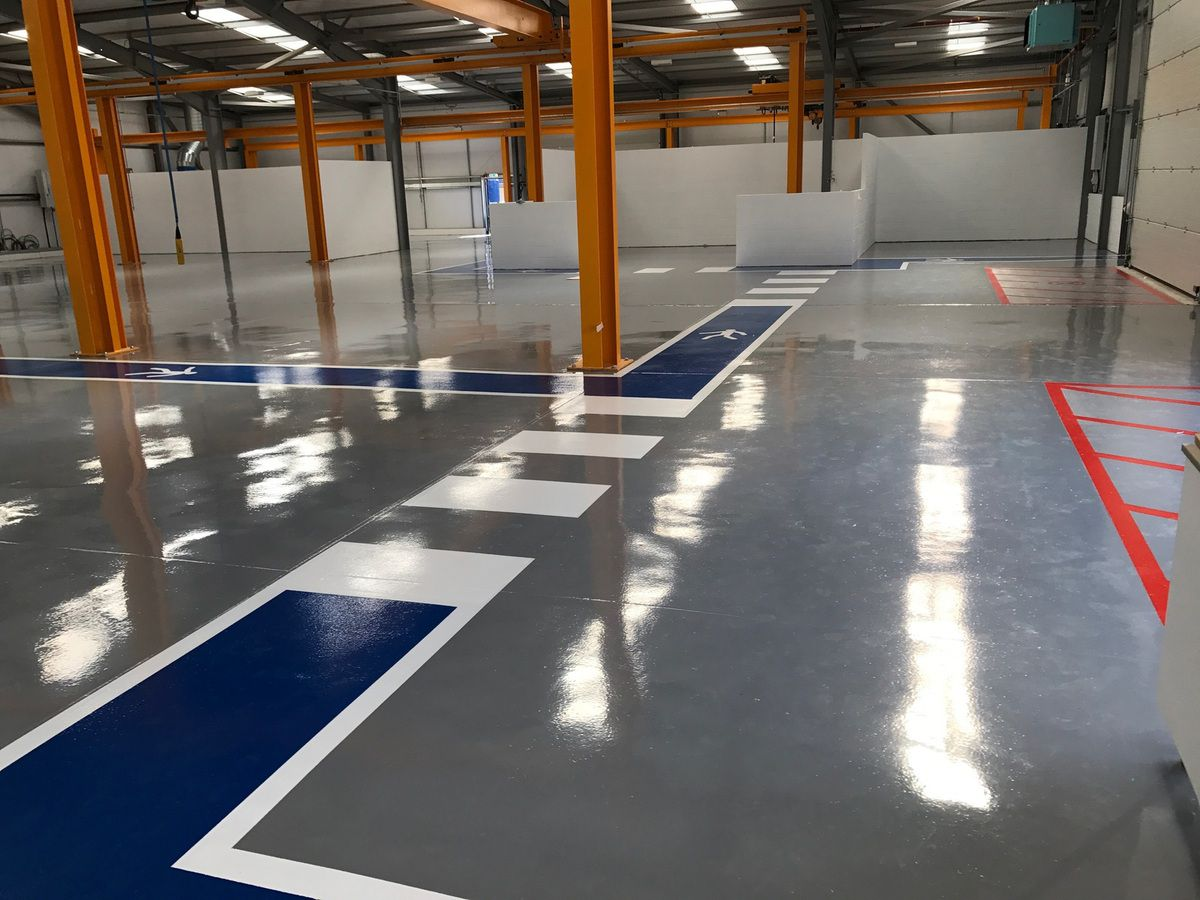 Epoxy Floors Are Used Even In Industries Where There Heavy Duty Operations Going On Most Of The Have Preferred Flooring Since