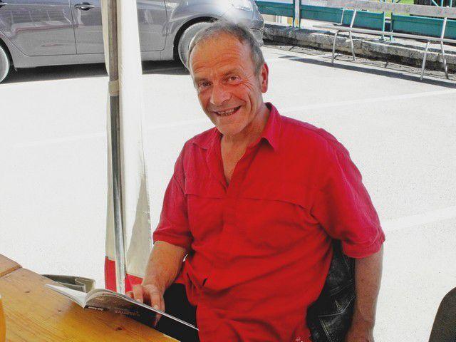 Gérard Lambert au salon de Gellin en août 2016