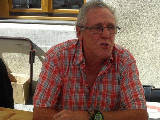 Maurice Monnier en août 2016