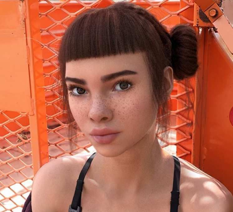 LIL MIQUELA, the instagram cyborg