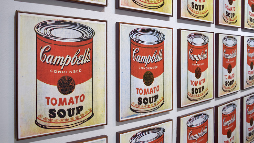 Warhol- Campbell's soup
