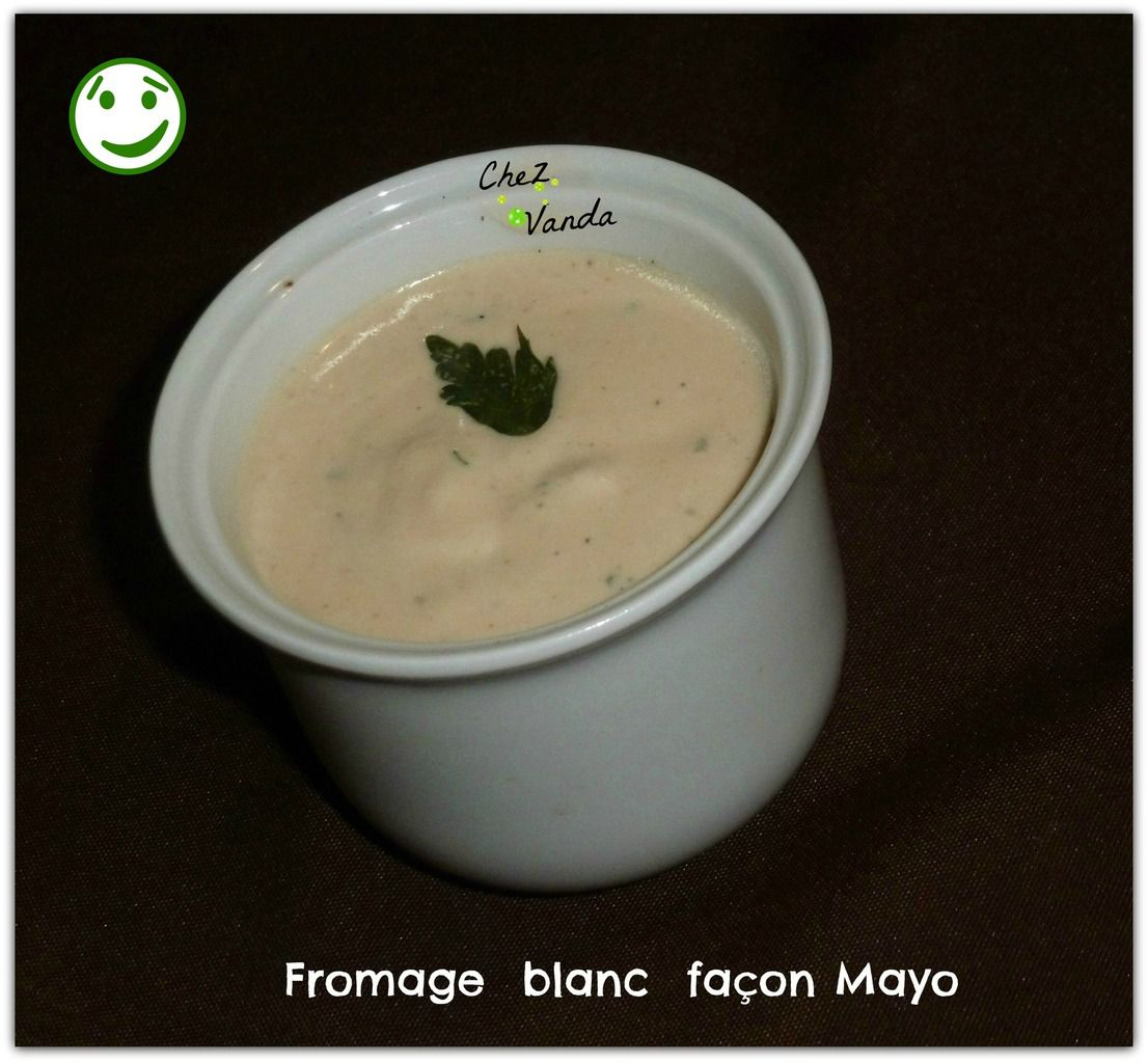 Fromage blanc façon mayo