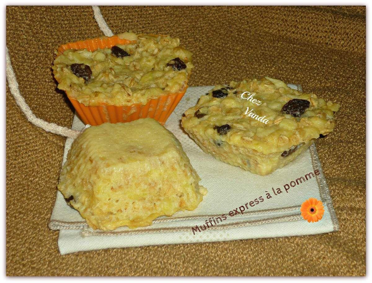Muffins express pour petit déj'