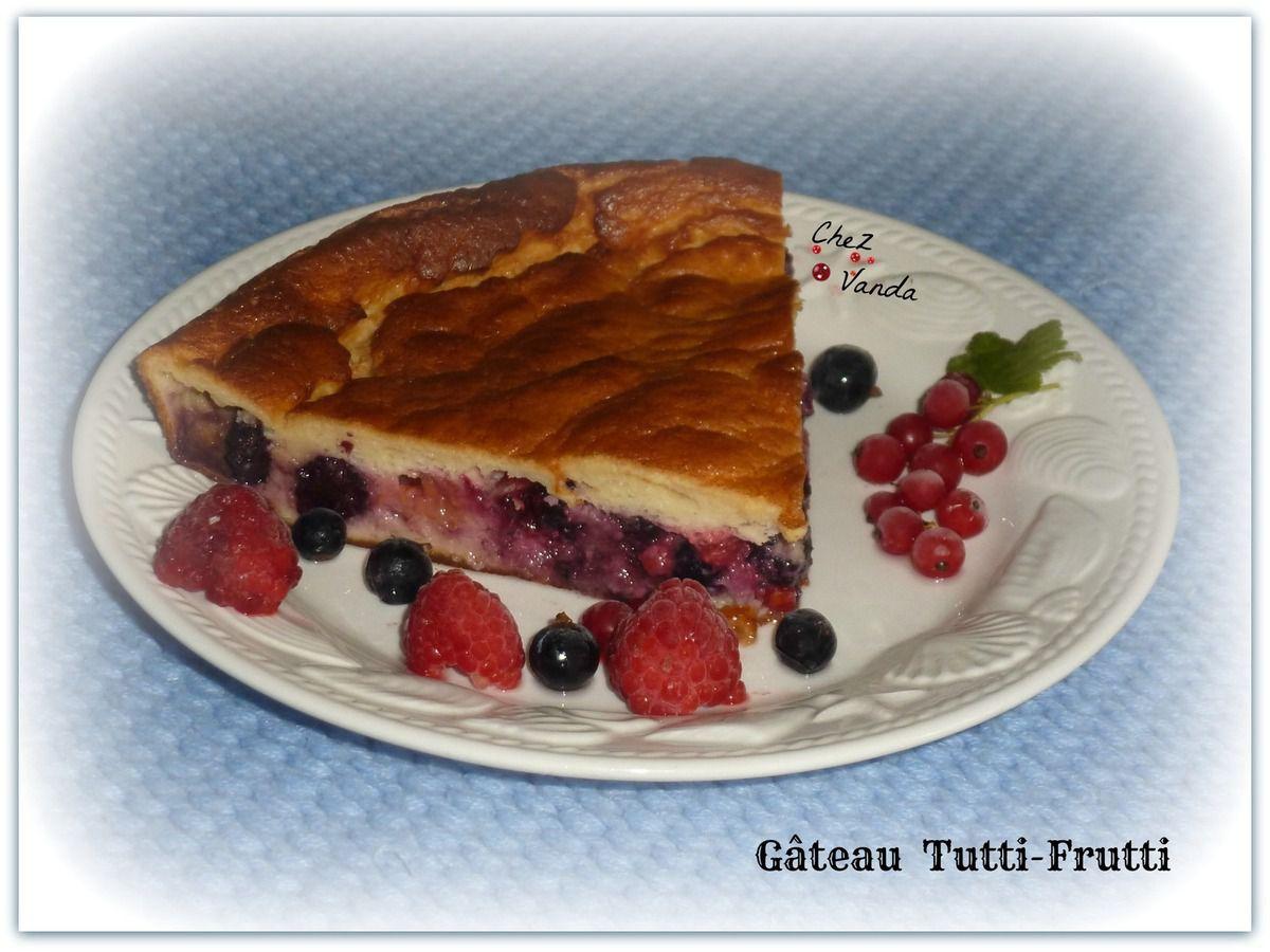 Gâteau tutti frutti