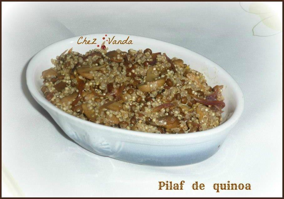 Pilaf au quinoa