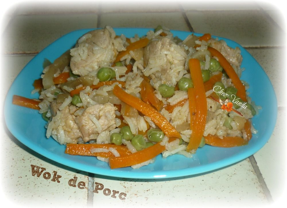 Wok de porc