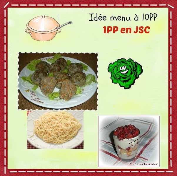 Menu à 10PP