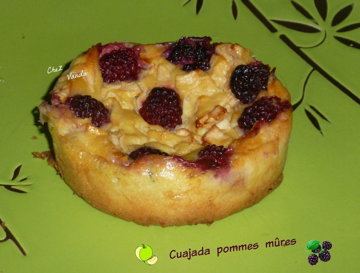Cuajada pommes mûres en version individuelle