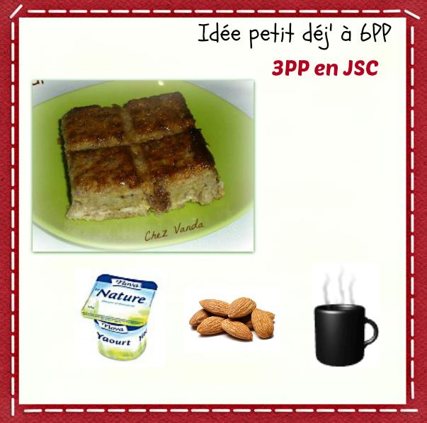 Petit déjeuner du jour à 6PP