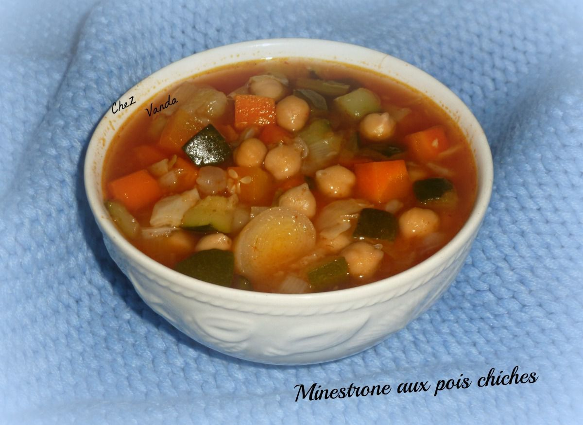 Minestrone aux pois chiches