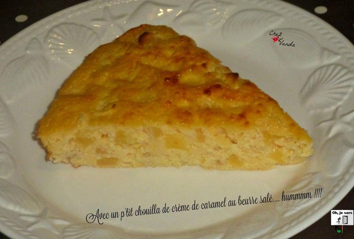 Gâteau aux pommes (sans farine)