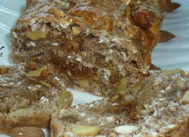 Gâteau énergétique pomme et fruits secs