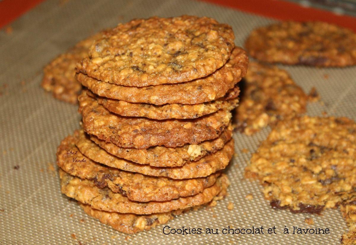 Cookies au chocolat et à l'avoine