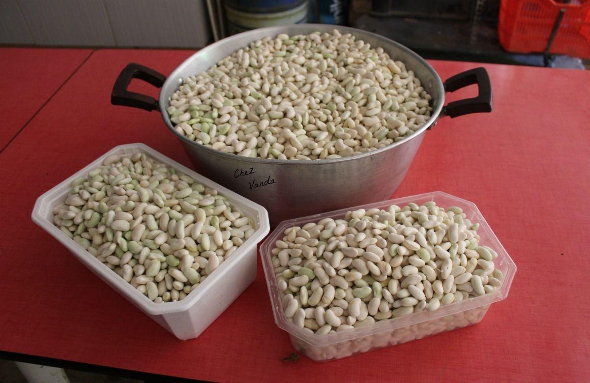Conserves de haricots blancs  à la tomate