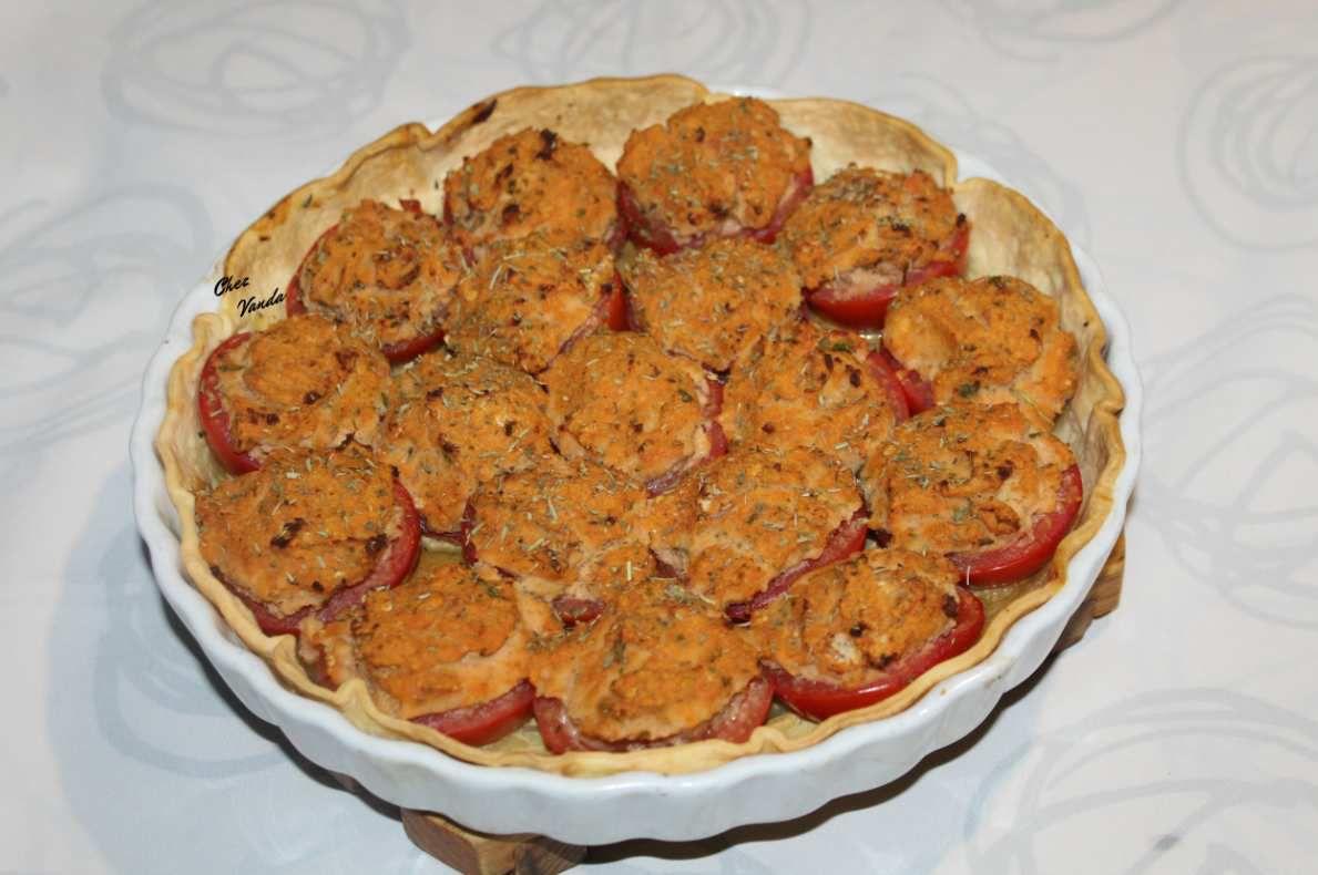 Tarte façon tomates farcies